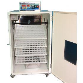 Incubator full automat IP-4S semiprofesional computerizat capacitate mare frigider microcontroller multe oua gaina prepelita rata gasca emu strut incubatoare mari profesionale multe oua industrial reglabil digital performant incubatoare-oua