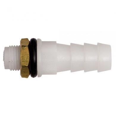 Stut adaptor bidon canistra vas apa conectare furtun reductie 9mm cu garnitura si piulita